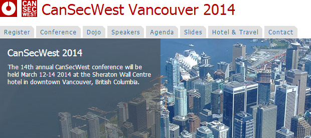 CanSecWest 2014